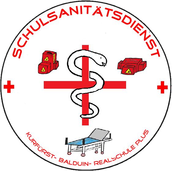 Kurfürst-Balduin-Realschule plus - Schulsanitätsdienst   {Schulsanitäter logo 55}